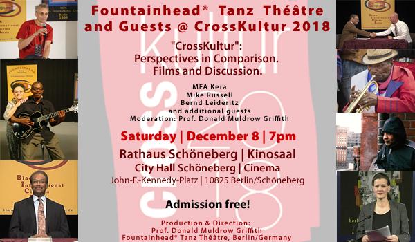 Fountainhead Tanz Théâtre at CrossKultur 2018